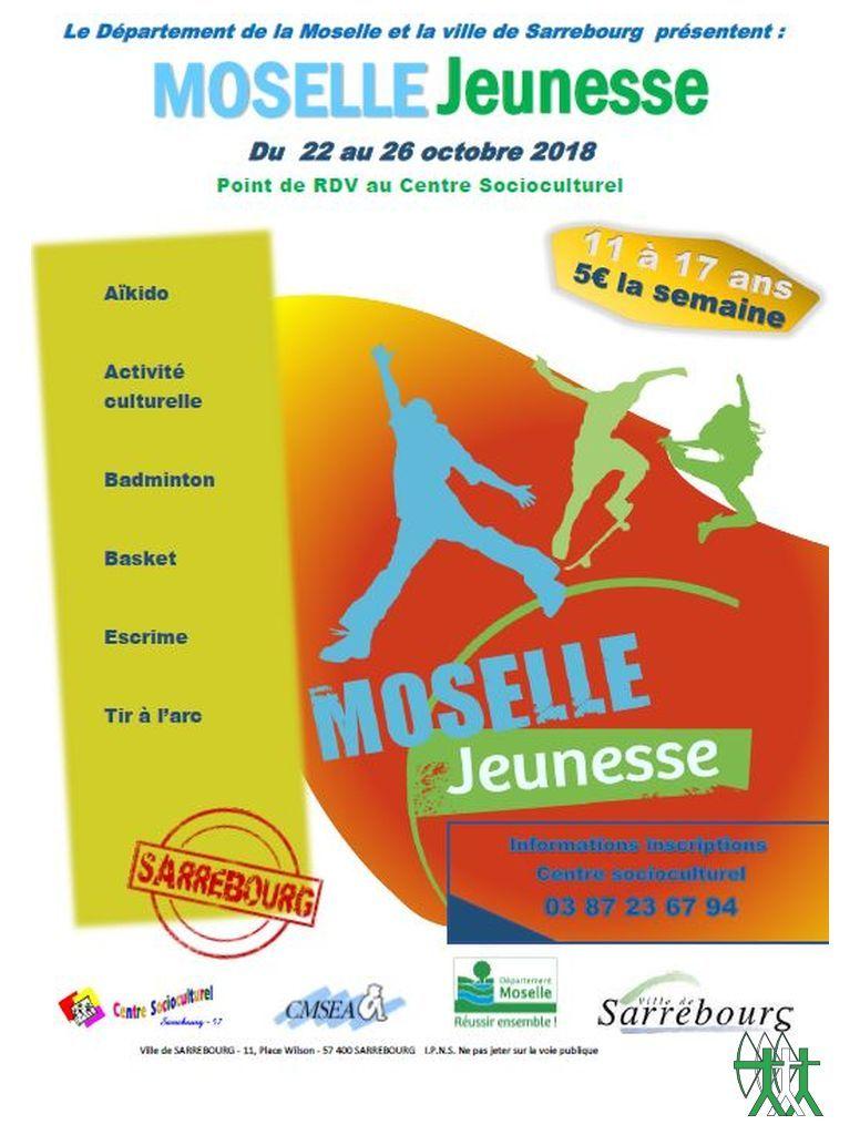 Activités Moselle Jeunesse 2018