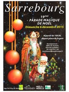 Affiche Parade de Noel