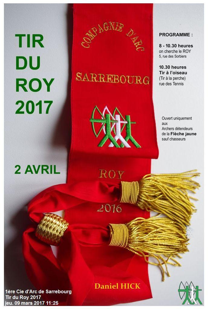 Mandat Tir ROY 2017