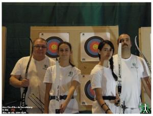 Photo de groupe au concours de St Dié