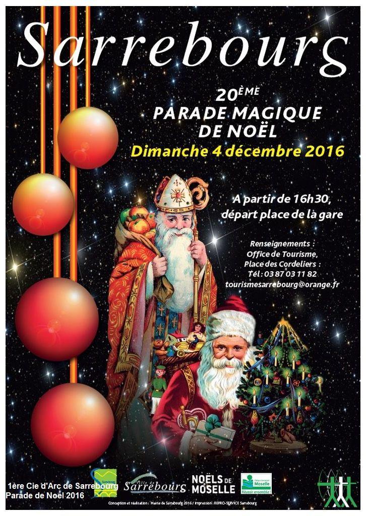 parade Sarrebourg noel 2016